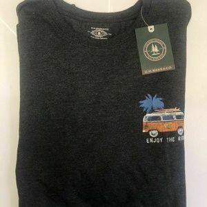 G.H. Bass & Co  Crewneck Graphic T-Shirt
